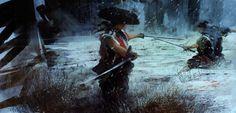 Legend of Musashi - Concept art, Digital paintingsCoolvibe – Digital Art