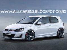 German tuner Oettinger has just announced the first details about their upcoming tuning program for the seventh generation of Volkswagen Golf GTI. Volkswagen Polo, Scooters, Vw Motorsport, Gti Mk7, Convertible, Diesel, Sport Seats, Car Goals, Vw Cars