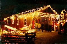 Lights at Clifton Mill, Clifton, Ohio