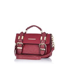 I'm shopping Dark red mini satchel in the River Island iPhone app. Red Purses, Purses And Bags, Satchel Purse, Crossbody Bag, Beautiful Bags, Types Of Fashion Styles, Dark Red, Handbags, Shoe Bag