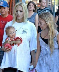 Disfraz de embarazada zombie