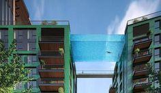 Imagen - Una experiencia para intrépidos: nadar en una piscina acristalada suspendida en el aire