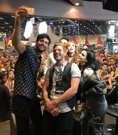 The Shadowhunters cast in Brazil