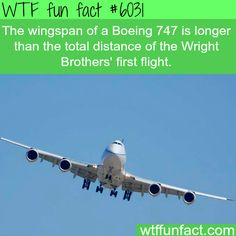 Facts about the Boeing 747 - WTF fun facts