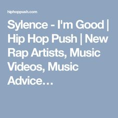 The Brooklyn native, Sylence comes with another release from his project entitled New Rap, Best Hip Hop, Rap Music, New Artists, Music Videos, Advice, Tips, Rap