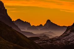 Morning Flow.  Dolomites, Italy.  by Hans Kruse.