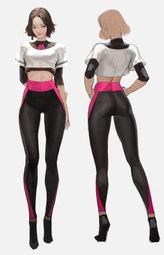 -- Visit shop mode here -- femme tendance Female Character Design, Character Design References, Character Drawing, Character Illustration, Character Concept, Female Drawing, Female Art, Drawing Drawing, Cosplay Games