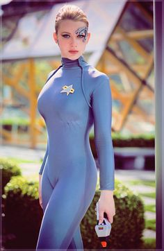 Seven of Nine (Star Trek).  [ Swordnarmory.com ] #cosplay #anime #swords #SciFiCostumeIdea
