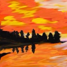 Forest Sunset ((2012))   Copyrights by Creative Sketch Design