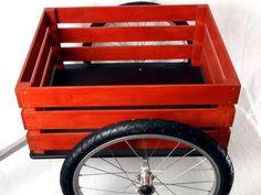 ox + monkey Farm Cart bike trailers