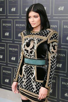 Kylie Jenner à la soirée de lancement Balmain X H&M à New York
