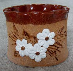 Plant Pots, Potted Plants, Pasta Piedra, Pinch Pots, Concrete Planters, Vase, Dory, Pattern Fashion, Terracotta