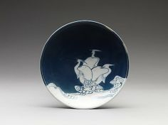 Dish with Heron Design - Metropolitan Museum