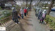 Crazy images caught on Google Street View - CNET - Page 2 Field Of Dreams, Diagon Alley, Vignettes, Street View, Google, Maps, Map, Peta, Prize Wheel