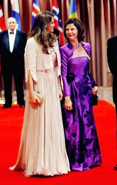 Queen Sylvia and Princess Madeleine