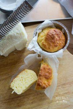 muffin salati al formaggio pecorino