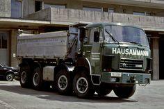 Big Rig Trucks, Dump Trucks, Automobile, Vintage Trucks, Buses, Track, History, Random, Bern