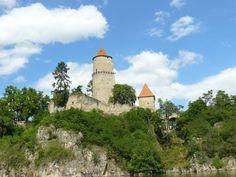Zvíkov ruins of the Castle, Czech Rep.