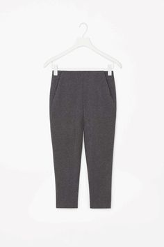COS | Tapered jersey trousers