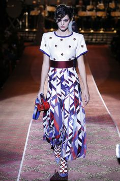 Runway #style: Kendall Jenner in Marc Jacobs dress