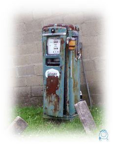 an ole gas pump