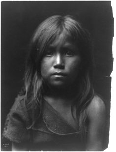Hopi girl by Edward S. Curtis