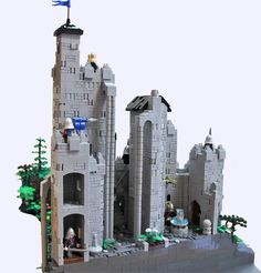 Barad Dur, The Hobbit Movies, Lego Castle, Lego Projects, Lego Moc, Architectural Features, Cool Lego, Dark Forest, Lego Creations