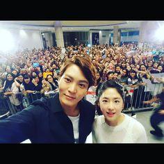 "IG @ zu.won_moon.jun.won ""#thanks #singapore #gangdoctor #용팔이 #박혜수 #goodbye #seeyousoon"""