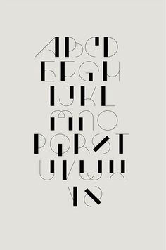 Typography in Communication Design-advertising Hand Lettering Alphabet, Calligraphy Letters, Typography Letters, Alphabet Fonts, Number Typography, Art Deco Typography, Typography Layout, Bullet Journal Font, Journal Fonts