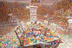 TOC. Yayoi Kusama: Look Now, See Forever Gallery of Modern Art installation view