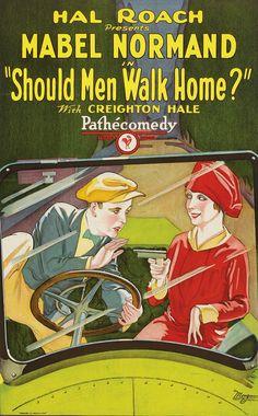 Should Men Walk Home? (1927) ~ Bizarre Los Angeles
