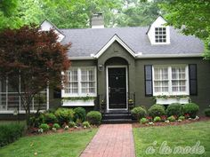 1000 Images About House Exterior On Pinterest Painted