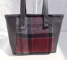 Hey, I found this really awesome Etsy listing at https://www.etsy.com/uk/listing/548380129/british-wool-and-faux-leather-tote