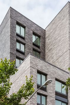 Project Details: Notes: This project uses a blend of 6 different custom klaycoats from our Hanley Plant. The light grey blend is K. Brick Facade, Brick And Stone, Facades, Apartments, Photo Galleries, Multi Story Building, Notes, Lighting, Gallery