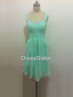 Bridesmaid Dresses  Mint Bridesmaid Dresses / Short by DressSister, $99.99