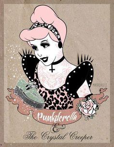 Punk Disney Cinderella