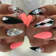 Love the colour pointed,neon and black :)