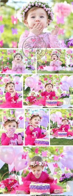 1 aninho, baby, borboletas, bruna russi, bruna russi fotografia, cake smash, jardim, jardim encantado, menina, rosa, smash the cake ao ar livre, smash the cake borboletas, smash the cake curitiba, smash the cake externo, smash the cake passarinho, smash the cake criativo, smash the cake diferente #babyphotographer
