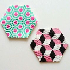 Image result for hama bead designs using hexagon board