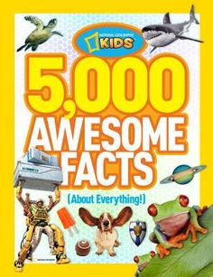 Who doesn't love National Geographic? Well, did you know that on planet Saturn, each season lasts about 7 Earth years? Just imagine a holiday season that long! Kids ages 8-12 will love this book—it's a fact! – Tim