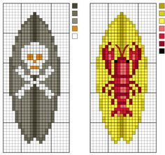 Surfboard Pattern Series - Sets 3 and 4