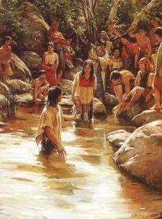 waters of mormon - walter rane