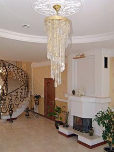 Custom crystal lighting Spirals, Crystal Pendant, Chandelier, Ceiling Lights, Shapes, Lighting, Crystals, Modern, Home Decor