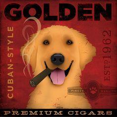 golden retriever cigar company