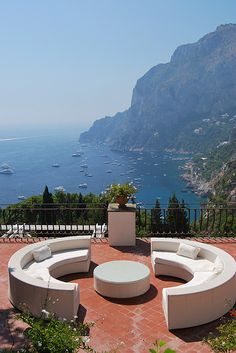 The island Capri in Italy......I feel like I need to go back just to try and order gillatto from this one German man!!!!