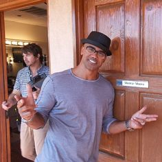 Shemar Moore was on The Talk today.  Yummy!