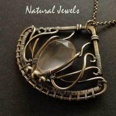 Silver Pendant Rosequartz Lotus - NaturalJewels - Rose Quartz