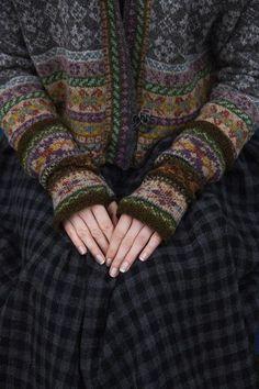 Shetland collection--Marie Wallin