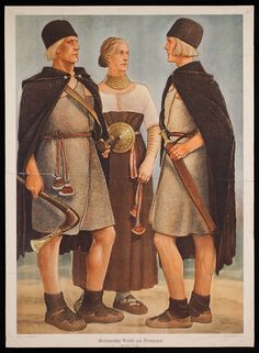 Germanic garb of the Bronze Age