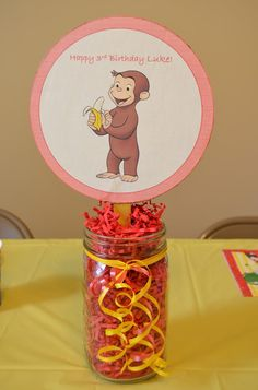 A Walk on the Simple Side: A Curious George Birthday Party